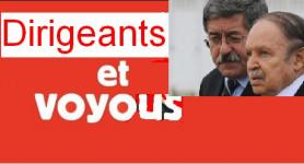 l'Algérie entres les mains de voyous crapuleux .